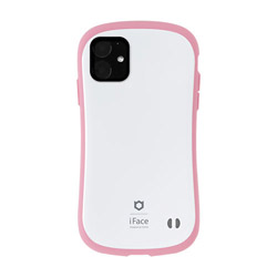 iPhone 11 6.1インチ iFace First Class Pastelケース 41-911525 ホワイト/ピンク