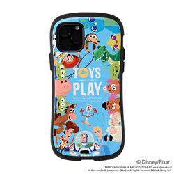 iPhone 11 Pro 5.8インチ ディズニー/ピクサーキャラクターiFace First Classケース 41-913055 トイ・ストーリー/総柄