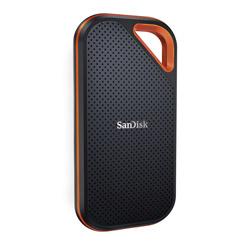 SanDisk(サンディスク) SDSSDE81-2T00-J25 外付けSSD USB-C+USB-A接続 エクストリームプロ  [ポータブル型 /2TB]