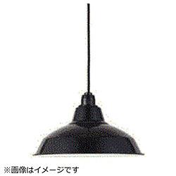 LEDペンダントライト ホーロー配照型セット 12インチ[シーリング /1灯] ブラック