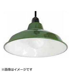 LEDペンダントライト ホーロー配照型セット 14インチ[シーリング / 1灯] グリーン