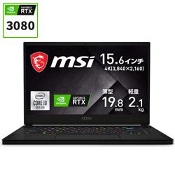 GS66-10UH-001JP ゲーミングノートパソコン GS66 Stealth 10U(4K) ブラック [15.6型 /intel Core i9 /SSD:1TB /メモリ:32GB /2021年1月モデル]