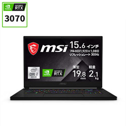 MSI(エムエスアイ) GS66-10UG-003JP ゲーミングノートパソコン GS66 Stealth 10U ブラック [15.6型 /intel Core i7 /SSD:1TB /メモリ:16GB /2021年1月モデル]