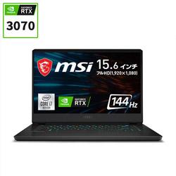 MSI(エムエスアイ) 【02/04発売予定】 GP66-10UG-096JP ゲーミングノートパソコン GP66 Leopard 10U ブラック [15.6型 /intel Core i7 /SSD:512GB /メモリ:16GB /RTX 3070/2021年2月モデル]