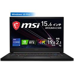 MSI(エムエスアイ) 【店頭併売品】 GS66-11UH-321JP ゲーミングノートパソコン GS66 Stealth 11U ブラック [15.6型 /intel Core i9 /SSD:1TB /メモリ:32GB /2021年7月モデル]