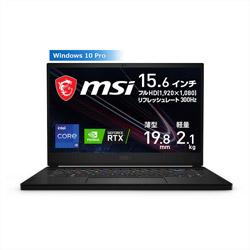 MSI(エムエスアイ) 【店頭併売品】 GS66-11UG-1026JP ゲーミングノートパソコン GS66 Stealth 11U ブラック [15.6型 /intel Core i9 /SSD:1TB /メモリ:16GB /2021年6月モデル]