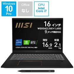 ノートパソコン Summit E16 Flip A11U インクブラック Summit-E16Flip-A11UCT-609JP [16.0型 /intel Core i7 /メモリ:32GB /SSD:1TB /2021年8月モデル]