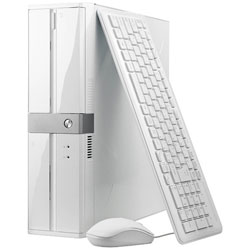 【クリックで詳細表示】モニター無 デスクトップPC バーガーパソコン [Win10 Home・Celeron・HDD 1TB・メモリ 4GB] 白 SPR-G393W10H17D(2017年4月モデル)