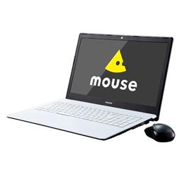 マウスコンピューター(mouse computer) 【在庫限り】 ノートPC MBN25W1H17F ホワイト [Win10 Home・Celeron・15.6インチ・HDD 1TB・メモリ 8GB]