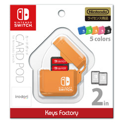 CARD POD for Nintendo Switch オレンジ [CPS-001-3] [Switch]
