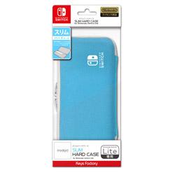 SLIM HARD CASE for Nintendo Switch Lite セルリアンブルー HSH-001-1 【Switch】
