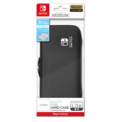 SLIM HARD CASE for Nintendo Switch Lite チャコールグレー HSH-001-4 【Switch】