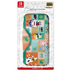 キーズファクトリー 【在庫限り】 QUICK POUCH COLLECTION for Nintendo Switch どうぶつの森Type-A CQP-009-1 CQP-009-1
