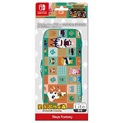 SLIM HARD CASE COLLECTION for Nintendo Switch Lite どうぶつの森 CSH-101-1 CSH-101-1
