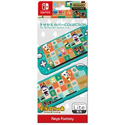 キーズファクトリー きせかえカバー COLLECTION for Nintendo Switch Lite どうぶつの森Type-A CKC-101-1 CKC-101-1