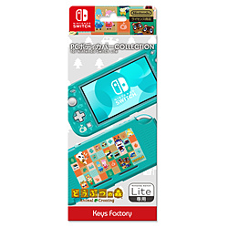 キーズファクトリー 【在庫限り】 PC BODY COVER COLLECTION for Nintendo Switch Lite どうぶつの森 CPC-101-1 CPC-101-1