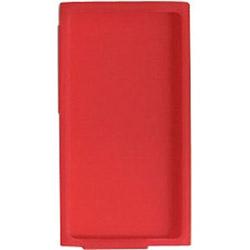 iPod nano 7G専用シリコンケース(レッド) BI-7NSI/R