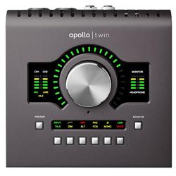 Universal Audio Apollo Twin MK2 SOLO (Macintosh専用 プロフェッショナル・オーディオインタフェイス) ※SHARC1基搭載