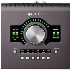 Universal Audio Apollo Twin MK2 DUO (Macintosh専用 プロフェッショナル・オーディオインタフェイス) ※SHARC2基搭載