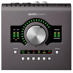 Universal Audio Apollo Twin MK2 QUAD (Macintosh専用 プロフェッショナル・オーディオインタフェイス) ※SHARC4基搭載