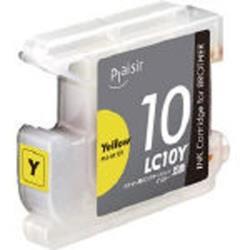 PLE-BR10Y (ブラザー LC10Y対応/互換インクカートリッジ/イエロー)