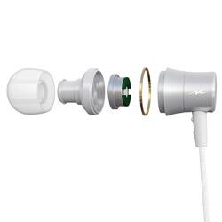 radius(ラディウス) HP-NEL31 シルバー【リモコン・マイク対応】 ライトニングイヤホン カナル型