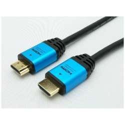 HYBHDA20-512BL HDMIケーブル ブルー [2m /HDMI⇔HDMI /イーサネット対応]