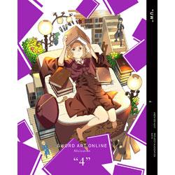 [4] ソードアート・オンライン・アリシゼーション 4 完全生産限定版 BD