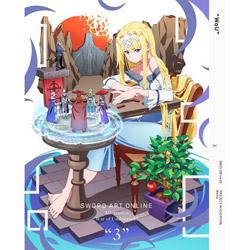 [3] ソードアート・オンライン アリシゼーション War of Underworld 3 【完全生産限定版】 DVD