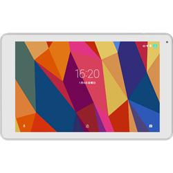 タブレットPC KWP10R ホワイト [Android 6.0・MT8163・10インチ・ストレージ 8GB・メモリ 1GB]