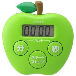 キッチンタイマー りんごタイマー T-534GN グリーン