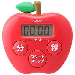 キッチンタイマー りんごタイマー T-534RD レッド
