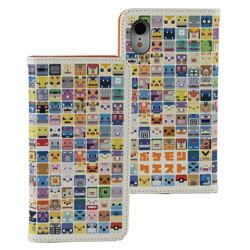 ポケモンクエスト iPhoneXR対応フリップカバー アイコン POKE611A