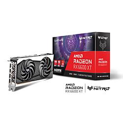SAPPHIRE(サファイア) SAPPHIRE NITRO+ Radeon RX 6600 XT GAMING OC 8G GDDR6   SAPNITROPRX6600XTOC8GB113090120G