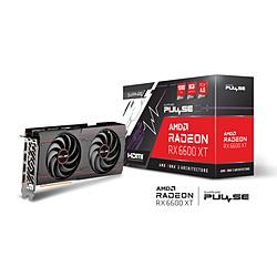 SAPPHIRE(サファイア) グラフィックボード PULSE Radeon RX 6600 XT GAMING OC 8G GDDR6  SAP-PULSERX6600XTOC8GB/11309-03-20G [Radeon RXシリーズ /8GB]