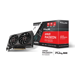 SAPPHIRE(サファイア) SAPPHIRE PULSE Radeon RX 6600 8GB GDDR6   SAPPULSERX66008GB113100120G