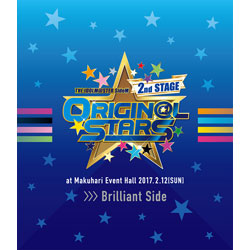 〔中古品〕THE IDOLM@STER SideM 2nd STAGE 〜ORIGIN@L STARS〜 Live Blu-ray <Brilliant Side> 【ブルーレイ】