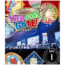 THE IDOLM@STER SideM 4th STAGE 〜TRE@SURE GATE〜 LIVE Blu-ray 【SMILE PASSPORT(DAY1通常版)】