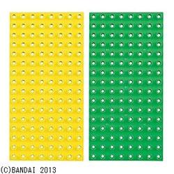 バンダイ ブロックラボ ベーシックブロックプレート(ファーストブロック&ワールドブロック)