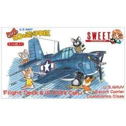 1/144 飛行機シリーズ カワイイ! ネコの飛行甲板(U.S.NAVY)