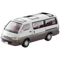 トミカリミテッドヴィンテージ NEO LV-N208a トヨタ ハイエースワゴン 2.4 スーパーカスタムリミテッド 92年式(白/茶)