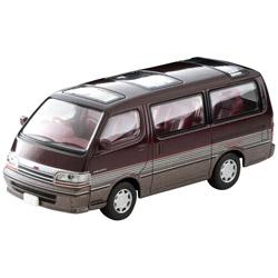 トミカリミテッドヴィンテージ NEO LV-N208b トヨタ ハイエースワゴン スーパーカスタム 92年式(暗赤/茶)