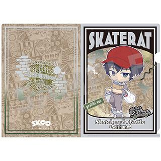 キャビネット 【7月中旬入荷予定】 SK∞ エスケーエイト A5クリアファイル 菊池忠 グラフィティーver.