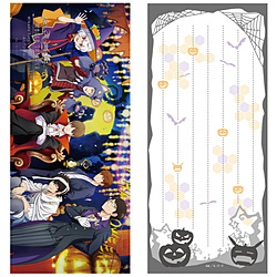 ワールドトリガー 三門の四季を駆けるプロジェクト〜月下の秋夜〜饗宴〜 一筆箋 秋ver.