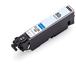 CC-EIC80LLCY 互換プリンターインク カラークリエーション ライトシアン