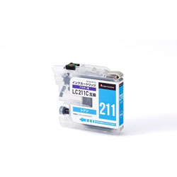 CC-BLC211CY 互換プリンターインク カラークリエーション シアン