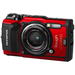 オリンパス Tough TG-5 レッド 防水デジタルカメラ タフ
