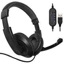 NB-03 ゲーミングヘッドセット  ブラック [USB /両耳 /ヘッドバンドタイプ]
