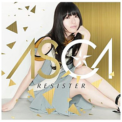 ASCA / RESISTER 初回生産限定盤 DVD付 CD