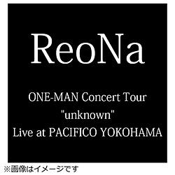 """【特典対象】 ReoNa/ ReoNa「ReoNa ONE-MAN Concert Tour """"unknown"""" Live at PACIFICO YOKOHAMA」 初回生産限定盤 BD ◆メーカー特典「レプリカパスステッカー」"""